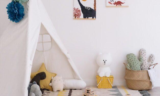 Una habitación juego inspirada en el Método Montessori