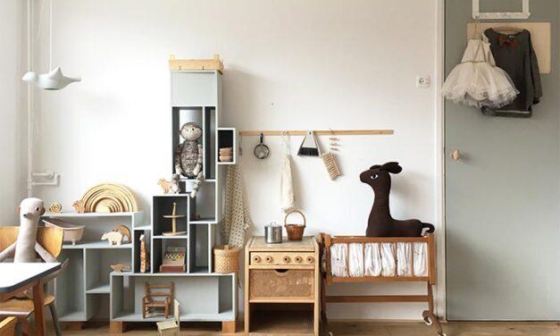 Una habitación infantil con aires escandinavos