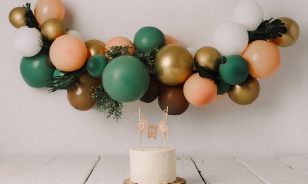 6 tartas originales para el primer cumpleaños