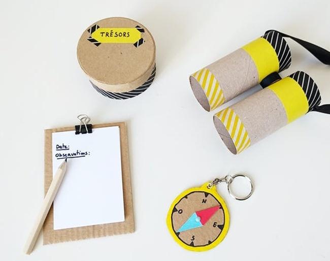 Manualidades: el kit del explorador