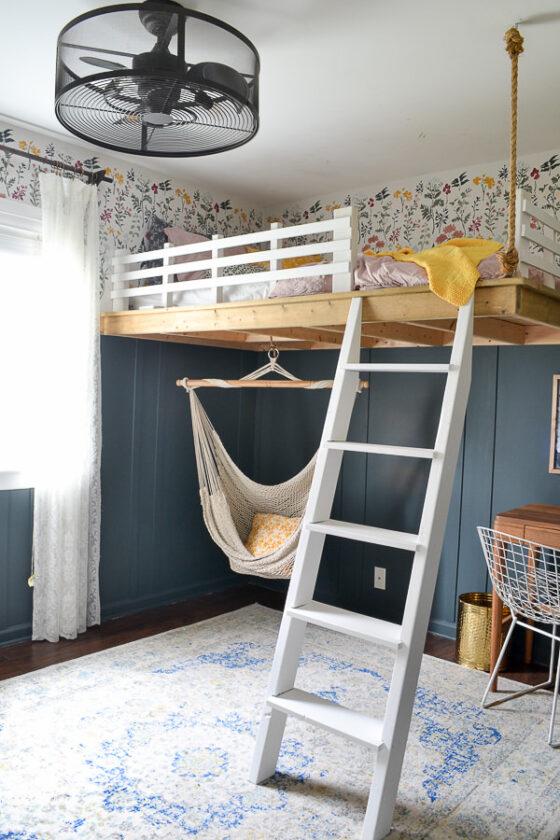 Un dormitorio juvenil bien aprovechado